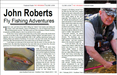 2018 Southern Trout featuring John Roberts