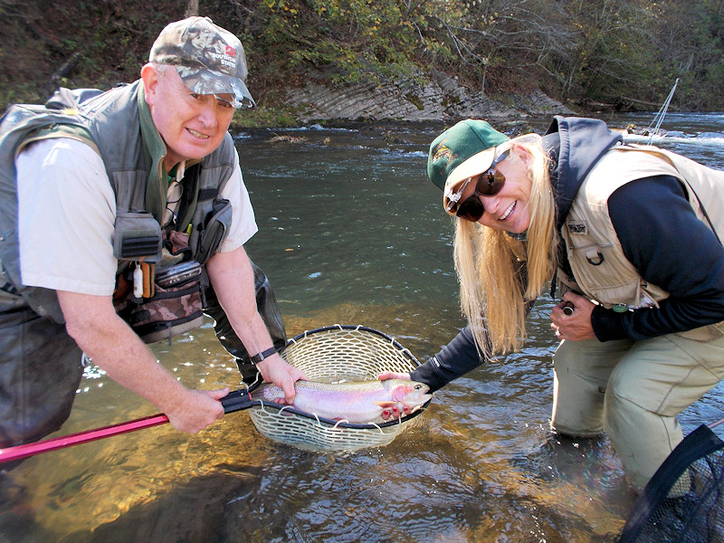 Virginia Fly Fishing Guide - John Roberts and Angler